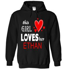 Your husband or boyfriends is ETHAN and you love him T-Shirts, Hoodies. Get It Now ==► https://www.sunfrog.com/Names/Your-husband-or-boyfriends-is-ETHAN-and-you-love-him-8487-Black-21320565-Hoodie.html?id=41382