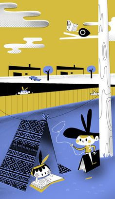 EME magazine - Betowers illustrations
