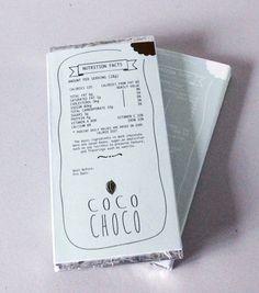 """""""coco choco"""" dark & white chocolate Branding, Graphic Design, Packaging"""
