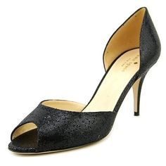 e45e571f5143 Shop for Kate Spade Sage Peep-Toe Synthetic Heels. Get free shipping at  Overstock