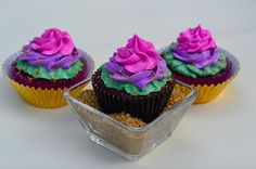 disney's descendants cupcakes - 1024×677