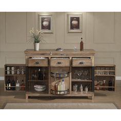 american heritage evolution bar cabinet with wine storage u0026 reviews wayfair