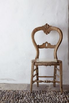 chair with a book