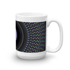 Cosmic Jewel Graphic Coffee Mug