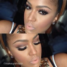 We love this neutral look by Makeupshayla using Motives Pressed Blush in Empress!  SHOP HERE ---> http://www.net2cosmetics.com