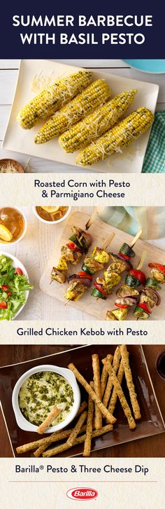 Looking to fire up the grill for your Fourth of July party? Save this pin for some of our favorite skewer, kebob and veggie basil pesto recipes. Barbecue Recipes, Grilling Recipes, Basil Pesto Recipes, Party Fiesta, Vegetarian Recipes, Healthy Recipes, Grilled Vegetables, Veggies, Vegane Rezepte