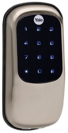 Electronic Deadbolt Keyed Both Sides Ideal Security Inc