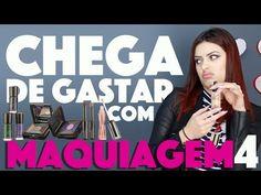 CRIANDO KIT DE MAQUIAGEM CASEIRA SEM GASTAR NADA #4 \/ | KIM ROSACUCA - YouTube