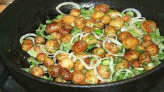 Netradiční bramborová příloha ke každému jídlu! Velmi chutné a rychlé!