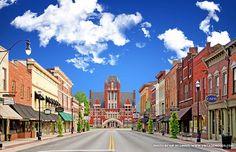 Bardstown, Kentucky...Voted Most Beautiful Small Town in America 2012