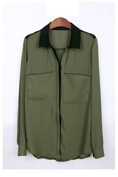 MILITARY STYLE SHIRT....:)