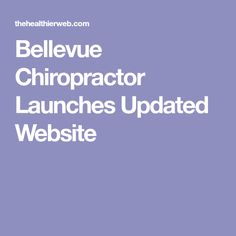 Bellevue Chiropractor Launches Updated Website Family Chiropractic, Chiropractic Care, Perfect Image, Perfect Photo, Love Photos, Cool Pictures, True Health, Oceans Of The World, Thats Not My