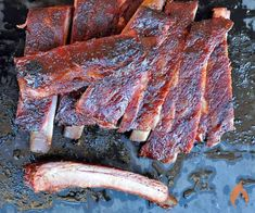 Many competitive barbecue teams use the tried-and-true 3-2-1 method when cooking St. Louis Style Ribs. This recipe and video will show you how easy it is.