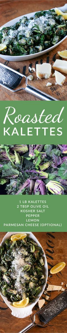 Roasting kalettes is a quick, easy and delicious way to prepare this healthy new hybrid. A perfect dish to boost your vegetable intake for a weeknight meal.