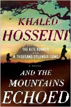 "by the author of ""the kite runner"" - very different style narrative, but in a good way. extremely moving with intricate but follow-able plot <3"