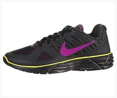 Nike Women's NIKE WMNS LUNAR SWEET VICTORY II+ RUNNING SHOES 9 (BLACK/VVD GRP/ANTHRCT/SNC YLLW) (*Partner Link)