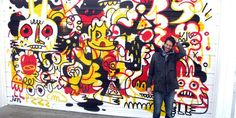 An interview with the colourful Jon Burgerman