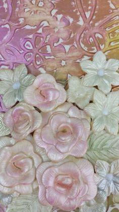 Flores con pasta Pardo.