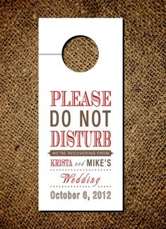 We need these for Dave & Cassie's wedding!!