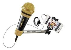 Love to Sing? The Selfie Mic is the perfect gift! This mic/earpiece/selfie stick is sure to bring your passion to a whole new level! Tween Girl Gifts, Tween Girls, Toys For Girls, Gifts For Girls, Kids Toys, 5 Kids, Unique Christmas Gifts, Homemade Christmas Gifts, 10 Year Old Christmas Gifts