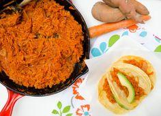 tinga de zanahoria y camote