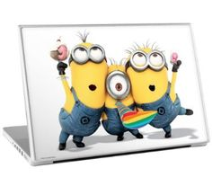 Despicable Me Minion Laptop Decal