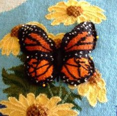Image result for knitted butterflies