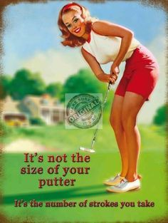 Funny Retro Metal Wall Sign Plaque Joke Golfing Gift For Dad Grandad Mens Cheeky