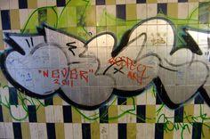 Underpass Graffiti, Worcester uk.