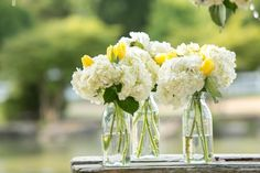 Milk Bottles For Wedding Flowers