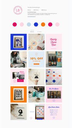 Instagram Grid, Instagram Design, Desing Inspiration, Web Design Projects, Grid Layouts, Social Media Design, Sign Design, Fashion Branding, Instagram Fashion