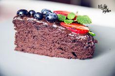 ČOKO BROWNIE bez múky a cukru :) | We Lift Together Sweet Recipes, Brownies, Good Food, Food And Drink, Low Carb, Birthday Cake, Cake Ideas, Fitness, Food Ideas