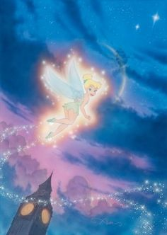 Tink-Shows-the-Way-By famed movie poster artist John Alvin: (creator of movie posters for over 200 movies)