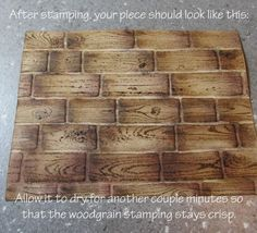 stamping technique Stampin Up embossing folder tutorial brick wall basket weave www.songofmyheartstampers.com