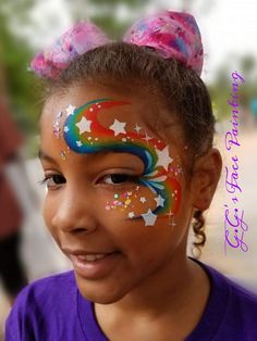 Young Tutorial and Ideas Face Painting Flowers, Girl Face Painting, Face Painting Tips, Belly Painting, Face Painting Designs, Face Painting Halloween Kids, Christmas Face Painting, Painting For Kids, Rainbow Face Paint