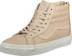 93e8c049312b Vans Hi Reissue Zip Veggie Tan Leather Brown Skateboarding Shoes Men M US)