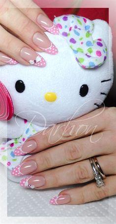 cute by Darhon - Nail Art Gallery nailartgallery.nailsmag.com by Nails Magazine www.nailsmag.com #nailart