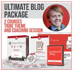 Ultimate Blog Package Giveaway I have followed Jeff for some time. Love his inspiring story. I entered, so should you!