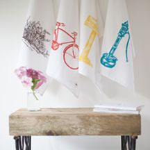 Tea Towels from Irish design store 'Sealed with Irish Love' Irish Tea, Stationary Shop, Irish Design, Interior Accessories, Soft Furnishings, Tea Towels, Fantasy, Store, Gifts