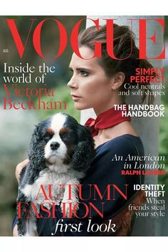 Pin for Later: Rachel McAdams Brings an Ethereal Touch to August's Covers Vogue UK August 2014 Victoria Beckham photographed by Patrick Demarchelier. Source: Courtesy of Vogue UK Vogue Covers, Vogue Magazine Covers, Fashion Magazine Cover, Vogue Uk, Vogue Korea, Teen Vogue, Patrick Demarchelier, Spice Girls, Victoria Beckham Vogue