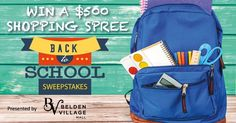 Back To School Sweepstakes - Contests and Promotions - The Repository - Canton, OH