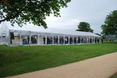 Bees Marquees were delighted to supply Lightening Events an all-clear PVC marquee for a private client's party, including fireworks watching!