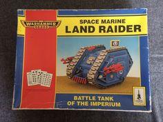 Warhammer 40K Land Raider MkI Rogue Trader On Sprue Plastic Oop Complete Gw #GamesWorkshop