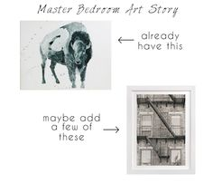 Master Bedroom Art Story || Town Lifestyle + Design