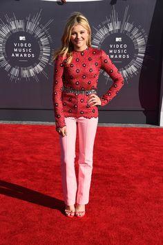 Chloe Moretz in Louis Vuitton at the MTV VMAs.