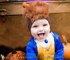 Take a look at this princely homemade costume of the Disney Beast. Create this Halloween costume for baby boy using the DIY costume tutorial here. Diy Baby Costumes, Baby Halloween Costumes For Boys, Halloween Costume Contest, Homemade Costumes, Toddler Costumes, Costume Ideas, Baby Beast Costume, Beast Costume Toddler, Beauty And The Beast Diy