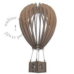 Balão montável 3D