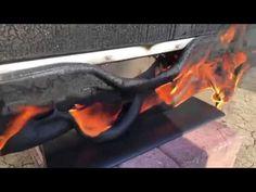 Điều gì sẽ xảy ra khi chúng ta đốt chảy chiếc Ti Vi màn hình tinh thể lỏ... Information Technology News, New Technology, Outdoor Decor, Future Tech