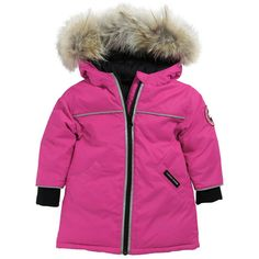 Canada Goose - Reese Parka. Pink down coat with hood