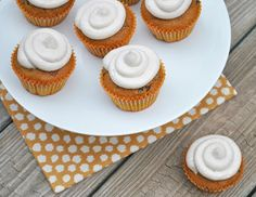 Ryan Bakes: Pumpkin Chocolate Chip Cupcakes with Cinnamon Cream Cheese Frosting